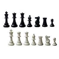 SchachQueen-Schachfiguren-Silikon-Knigshhe-KH-90-mm-schwarzwei SchachQueen – Schachfiguren Silikon Königshöhe KH 90 mm Schwarz/Weiß -