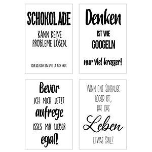 Poster Schwarz Weiss Kuche Deine Wohnideen De