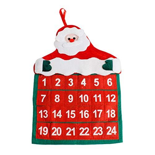 Happy Event Weihnachten Alter Mann Schnee Mann Hirsch Kalender | Advent Countdown Kalender (A)