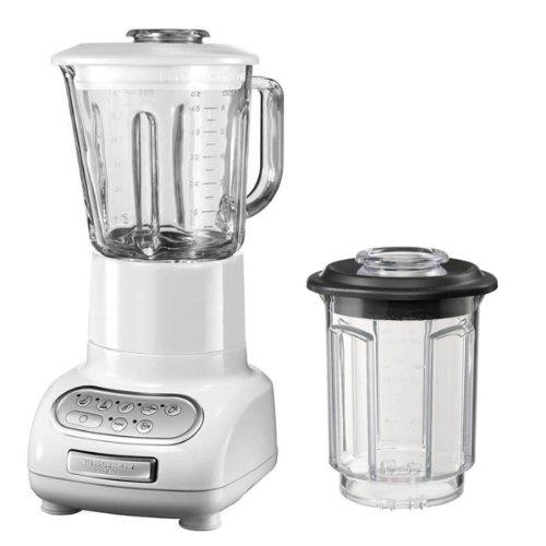 KitchenAid Artisan - Batidora de vaso blanco