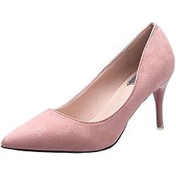 fereshte , Damen spitz , rosa - rose - Größe: 35 EU