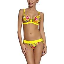 Feba Bikini Bañadores Trajes de Baño Conjunto Tops Sujetador y Bragas Ropa Playa Verano Mujer N3C4L2