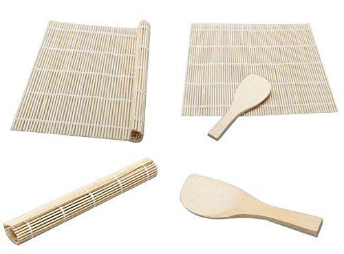 Da. WA Sushi de bambú Rolling alfombrilla para sushi con pala