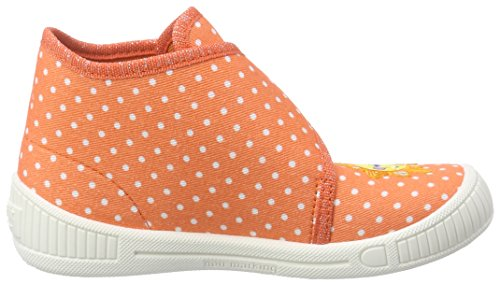 Superfit Bully, Chaussons montants fille Orange (SUNBURST KOMBI 17)