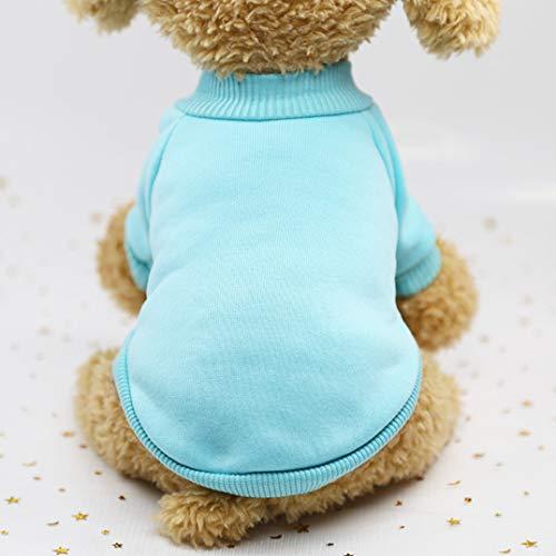 Smoro Haustier Hund Katze Pullover, warme Hunde Pullover Katze Kleidung, Fleece Haustier Mantel für (Fancy Hunde Kostüm)