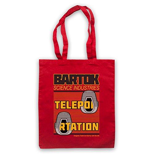 Inspiriert durch The Fly Bartok Science Industries Inoffiziell Umhangetaschen Rot