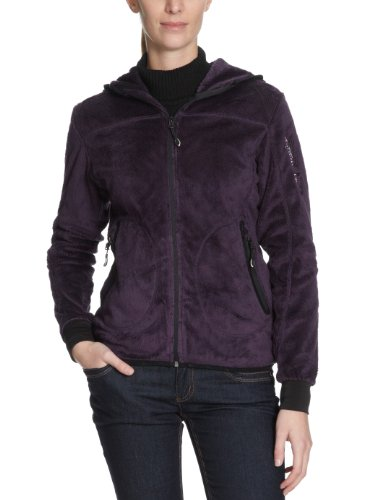 Northland Professional Teddy Femmes Manches Longues-Veste de Ski à capuche pour femme Violet - Violet foncé