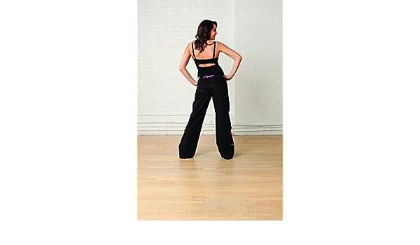 CAPEZIO - Pantalon zumba Capezio CA200 - BLK   Noir a5884079f0c