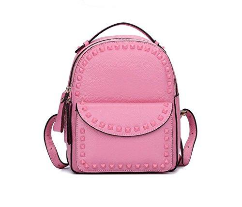 GBT Neue Art- und Weisekuhfell-Beutel-Schulter-Beutel Pink