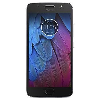 Moto G5s - Smartphone libre Android 7.1 (pantalla de 5.2'' Full HD, 4G, cámara de 16 MP, 3 GB de RAM, 32 GB, Qualcomm Snapdragon 1.4 GHz) gris lunar
