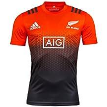 New Zeland All Blacks Rugby Performance Tee 2017 - Orange