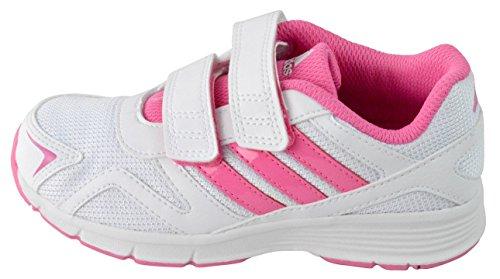 Adidas Cleaser CF K Blanc/Rose Blanc - blanc