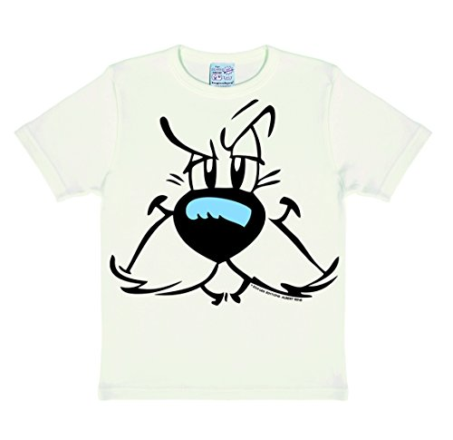Asterix Jungen T-Shirt Idefix-Faces, Off (Almost White), 10-11 ()