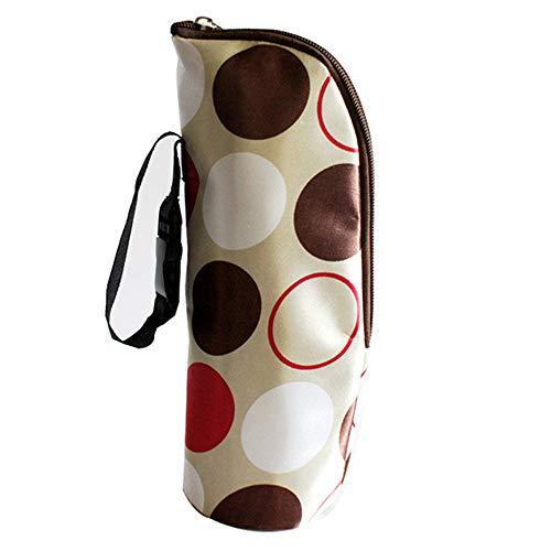 Portable isolierte Flasche Taschen - Baby Kid Fütterung Milchflasche wärmer Lagerung Inhaber Tragetasche am besten für die Reise (Baby Flasche Wärmer Reise)