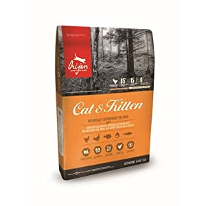 Orijen Cat and Kitten Food, 340 g