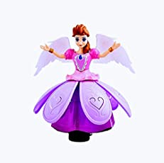 Beautiful Dancing Angel Girl Toy with Light