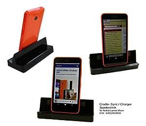 Station d'Accueil pour Nokia Microsoft Lumia 730 735 635 630 625 930 925 530 ..* Cradle per synchroniser USB et recharger Samsung portable