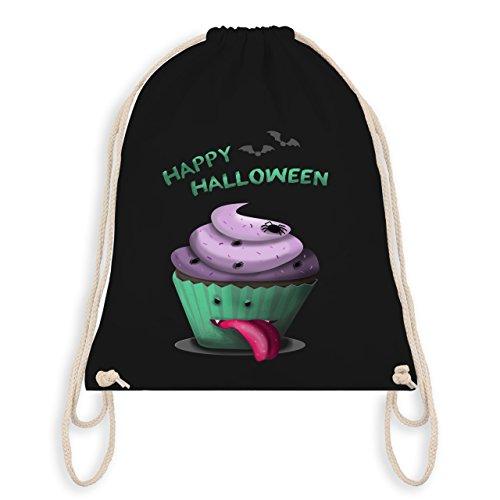 Halloween - Halloween treats - Unisize - Schwarz - WM110 - Angesagter Turnbeutel / Gym (Halloween Kostüm Mit Beutel Süßigkeiten)