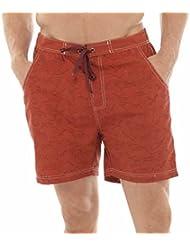 Para hombre diseño de impresión de tiburón pantalón corto de bañador para pantalones de bañador para niño diseño de playa