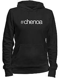 Idakoos Hashtag Chenoa - Nombres Femenino - Sudadera con capucha para mujer