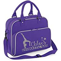 Personalised Name Gym Bag Dance Bag Girls Personalised Bags Custom Gymnastic Bag Sports Bag