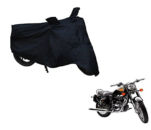 Auto Hub Black-Matty Bike Body Cover For Royal Enfield Bullet 500  available at amazon for Rs.335