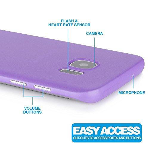 "iPhone 5C Schutzhülle ""Ultra Thin"" - Ultra Dünnes Case in schwarz aus Polypropylen - transparente Hülle von MC24 lila"