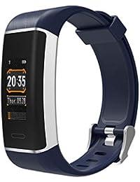 CplaplI Reloj Inteligente de Pulsera, Pulsera de Actividad física con Pantalla de Color y GPS