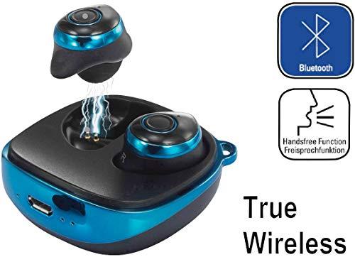 Renkforce RF-BTK-200 Bluetooth® Kopfhörer In Ear Headset Blau-Schwarz (Rf-headset)