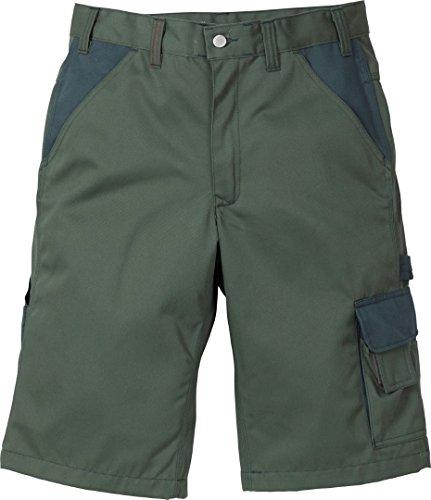 Kansas Icon Arbeitshosen kurze Hosen Shorts 2-875, Farbe:army hell/army dunkel;Größe:48