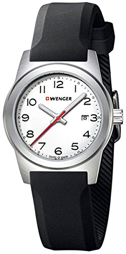 Wenger Field Esfera Blanca watch Woman 01.0411.133