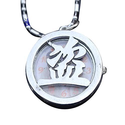 s Modell von Carattere Chinesische Taschenuhr mit Anhänger Medaillon mit Schmuckbox, Time Raiders für Mädchen, Mädchen (Silber) ()