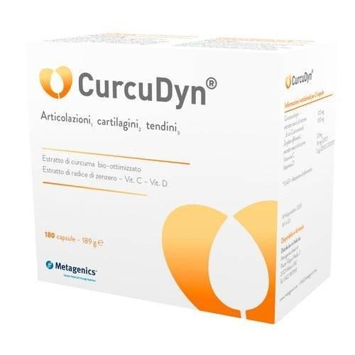integratore alimentare per le articolazioni curcudyn 180 capsule