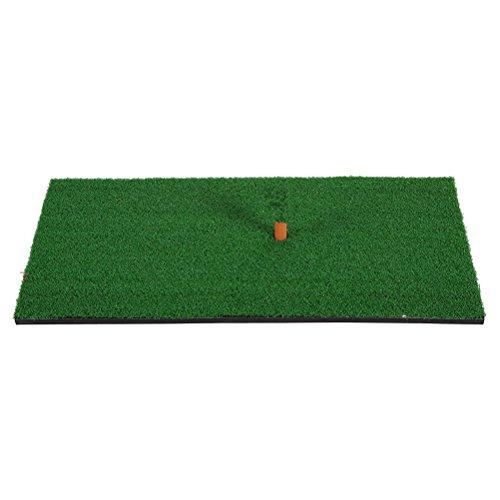 xis Schlagen Matte Gummi T Halter Gummi Tee Halter Realistische Gras Putting Matten Tragbare Outdoor Sports Golf Ausbildung Rasen Matte 30x60 cm ()