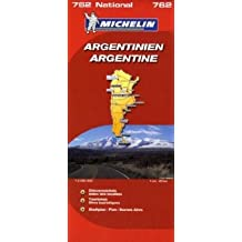 Argentinien (Michelin Nationalkarte)