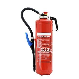 Feuerlöscher 6L ABF Fettbrand-Kartuschen-Auflade-Löscher DIN EN 3 inkl. ANDRIS® Prüfnachweis mit Jahresmarke