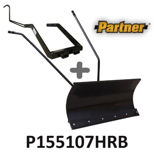 Lame à Neige 118 cm Noire + adaptateur pour Partner P155107HRB