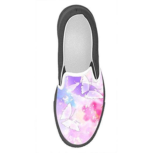Dalliy Costume Butterfly B Hommes Chaussures De Toile À Enfiler