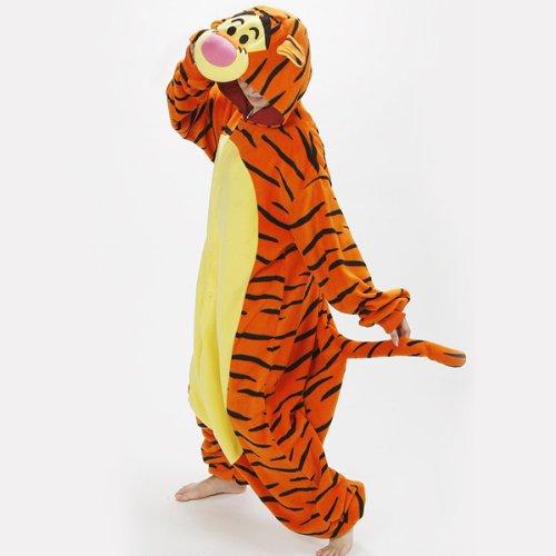 Frau Pokemon Pikachu Schlafanzug Erwachsene Anime Cosplay Halloween Kostüm Kleidung Onesie-S Jump Tiger