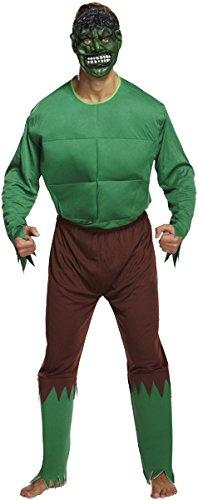 Kostüm Erwachsene grün Riese (Grüne Riesen Kostüme)