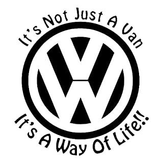 Action Retail VW Its not just a van – its a way of life decal/sticker (Black)