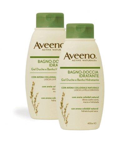 Aveeno Bagno-Doccia Idratante 2 pezzi da 500 ml