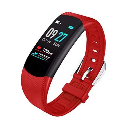 OPAKY Pulsera de Actividad Reloj Inteligente Smart Watch Deportes Fitness Actividad Monitor de Ritmo cardíaco Presión Arterial Calorías Actividad Pulsera Mujer Hombre Reloj Fitness Podómetro