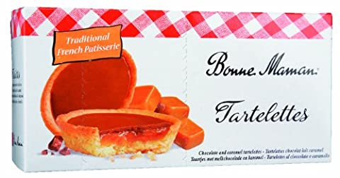 Bonne Maman Chocolate and Caramel Tartlettes 135 g (Pack of