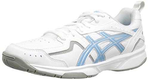 Asics Womens Gel Acclaim Training Shoe white/silver/blue