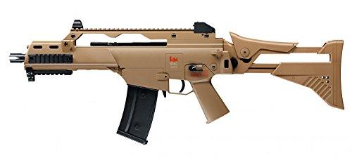 Heckler & Koch G36 C IDZ Softairgewehr, Beige, 0,5joule, 500-745 mm (Sturmgewehr Elektrisches Softair)