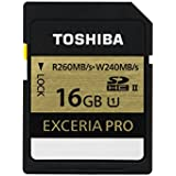 Toshiba SDHC carte Class 10 16Go / GB Exceria Pro UHS II