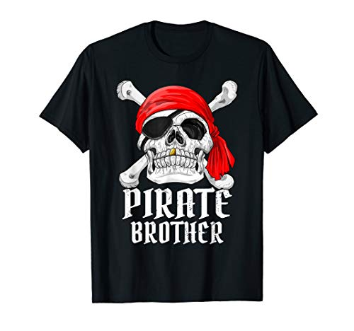 Pirate Brother Shirt Bruder Piraten Kostüm Karneval - Kostüm Brüder