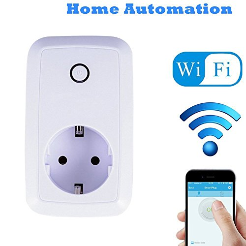 Xcsource wifi smart power plug presa di corrente timer di controllo remoto con ios / android app ah180