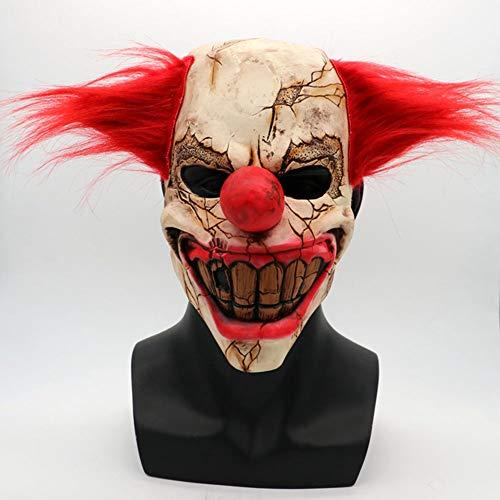S+S Gruselige Maske, Gespenstisches Gesicht Clown Volles Gesicht Halloween Weihnachtskostüm Party Bälle Gruselige Terror Requisiten Latex Gruselige Masken Alle Größen Erwachsene Und Kinder